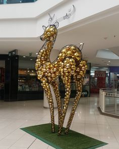 "MYER CENTRE,Brisbane, Queensland, Australia, ""That's one ballsy deer..."", pinned by Ton van der Veer"