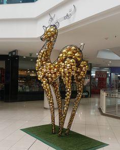 "MYER CENTRE,Brisbane, Queensland, Australia, ""That's one ballsy deer..."", pinned by Ton van der Veer"