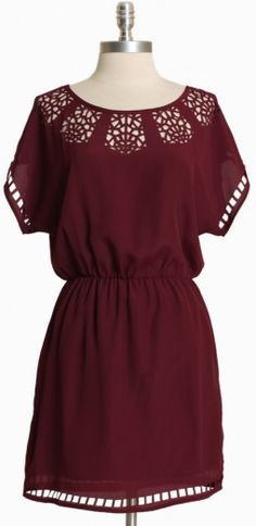 A perfect summer day (or night) calls for a perfect dress in #Redksins burgundy. #HTTR #LiveIt