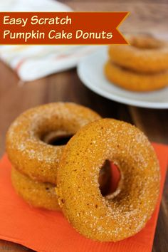 Making a batch of baked pumpkin doughnuts on a chilly fall day is such a treat, and with this easy scratch recipe you will be enjoying some in no time.  You will just need a muffin baking pan and some common ingredients. How to Make Baked Pumpkin Doughnuts from Scratch Mix all the batter ingredients …