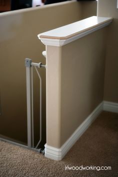 Easy Diy Custom Finishes To Your Handrail Or Half Wall