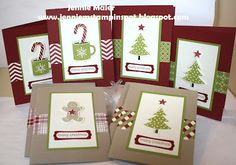 """SU! Scentsational Season """"Cards in a Flash"""" (with a link to a how-to video by Connie Stewart) - Jennie Maier"""