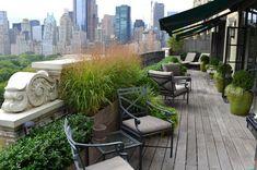 Klassiek balkon ontwerp aan Central Park   Interieur inrichting