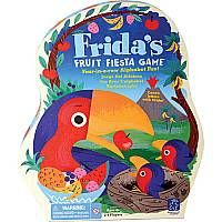 Frida's Fruit Fiesta - Frida's colorful and fun game helps children build letter naming skills, as well as fine motor skills.