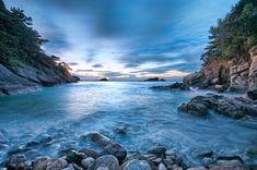 Fotografía del paisaje hermoso de Shizuoka, Japón basada en el fotógrafo Tommy Tsutsui.