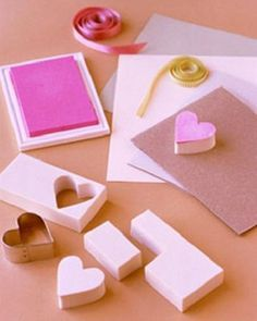 7 Ways To Use Rubber Stamps To Create Valentine's Day Gifts & Decorations - The Fun Times Guide to Stamping and Scrapbooking Here are 7 fun things you can do with your rubber stamps to create gifts and decorations for Valentines Day. Valentine Day Gifts, Valentines, Valentine Ideas, Homemade Stamps, Fabric Stamping, Rubber Stamping, Stamp Carving, Wood Stamp, Custom Stamps