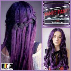 Manic Panic Purple Haze available at @rainbowhead_ph! Classic Php 750 118ml (4oz) Manic ...