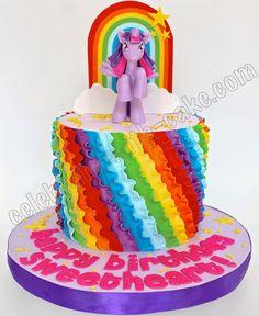 Celebrate with Cake!: My Little Pony Rainbow