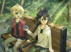 Mikaela Hyakuya and Yuuichirou Hyakuya Anime Siblings, Anime Couples, Fan Anime, Anime Art, Me Me Me Anime, Anime Guys, Desenhos Love, Mikaela Hyakuya, Seraph Of The End
