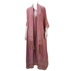 1975 Bill Gibb Pink Three Piece Knit Ensemble | From a collection of rare vintage suits, outfits and ensembles at https://www.1stdibs.com/fashion/clothing/suits-outfits-ensembles/