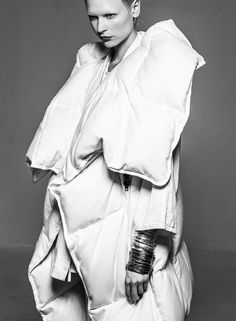 Soft Sculptural Fashion with padded 3D structure; experimental fashion design // Maison Martin Margiela