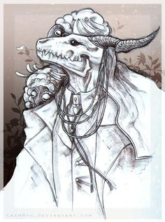 Elias Ainsworth by CaimRyo