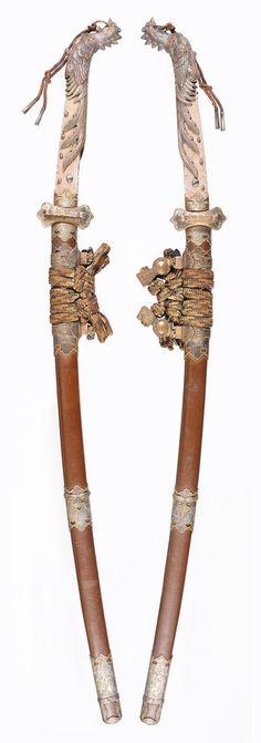 (notitle) – Buğra Serdar Sarıaydın – Join the world of pin Samurai Weapons, Katana Swords, Samurai Art, Weapons Guns, Swords And Daggers, Knives And Swords, Armas Ninja, Cool Swords, Fu Dog