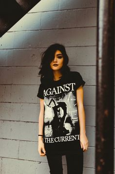 #against the current