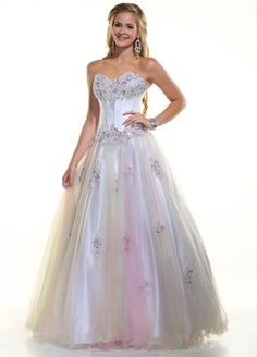 Disney Forever Enchanted Prom Dresses Also in Lilac/Ice blue