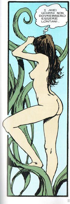 Manara Maestro dell'Eros-Vol. 21, Jolanda De Almaviva-117a
