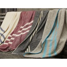 Coyuchi Striped Throw Wool Blanket - striped-throw-wool-blanket