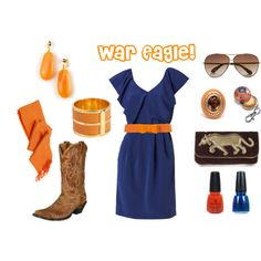 """Auburn Gameday"" by allyugadawg on Polyvore"