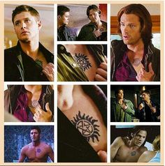 """SEE Supernatural can turn anyones """"No tatt"""" rule into """"I want that tatt"""" Its that amazing. Love them Winchester Boys YEE"""