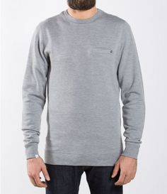 It's rare to find a sweater that looks as good as it feels. The We Norwegians Men's BaseTwo Crewneck Sweater isn't that itchy old sweater you used to wear as a kid—it's made with a micron merino wool that's soft, breathable, and naturally antimicrobial. Old Sweater, Crewneck Sweater, Sweaters, Norwegian Men, Outdoor Gear, That Look, Crew Neck, Sweatshirts, Merino Wool