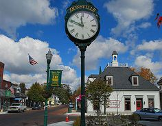 Zionsville's Main Street- Alongside the ancient bricks, small businesses provide unique shopping and dining opportunities to citizens and tourists alike.