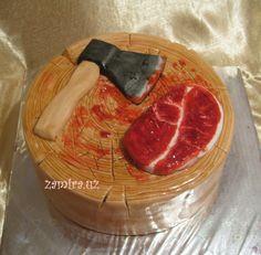 Cake for butcher — Food