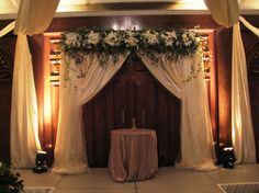 Draped Ceremony  Southern Event Planners, Memphis, TN Ceremony Backdrop, Ceremony Decorations, Event Planners, Arches, Memphis, Backdrops, Southern, Curtains, Design