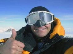 Sean Swarner: first cancer survivor to complete the 7-summits, the highest peaks of the 7 continents AFTER being diagnosed with both Hodgkin's disease and Askin's sarcoma.  With only partial use of his lungs, Sean became the first cancer survivor to climb Mount Everest.