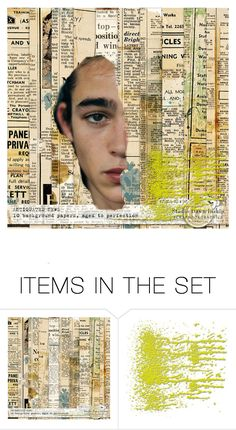 """""""Yesterday"""" by lablanchenoire ❤ liked on Polyvore featuring art"""