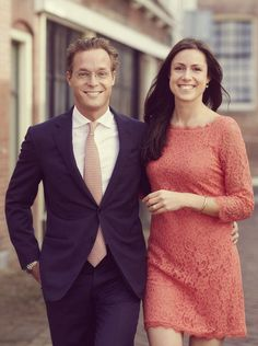 misshonoriaglossop:  Before the news of his cousin Prince Friso's death, the engagement of Prince Jaime Bernardo of Bourbon-Parma, son of Princess Irene of the Netherlands and the late Prince Carlos Hugo of Bourbon-Parma, to Viktória Cservenyák was announced.  The couple plan to marry on October 5, 2013 in Apeldoorn, Netherlands.