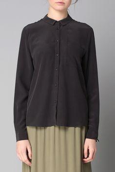 Shirt / Blouse - ris170 - Grey