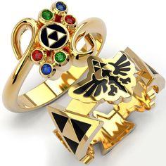 Legend Of Zelda RingsLegend Of Zelda ring Legend Of Zelda, Nerd Jewelry, Fine Jewelry, Jewelry Rings, Jewellery Box, Jewellery Shops, Fashion Jewellery, Bijou Geek, Zelda Ring