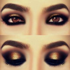 A huge selection of eye makeup tips, videos and eye makeup tutorials, learn how to apply eyeliner and eyeshadow using step by step or how to's from top make up professionals. Beauty Zone, Beauty Make-up, Beauty Hacks, Beauty Trends, Natural Beauty, Hair Beauty, Natural Curls, Beauty Tips, Love Makeup