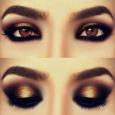«El color oro en los ojos nunca pasa de moda»