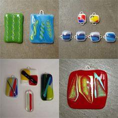 Make your own beautiful glass pendants