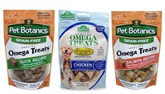 Pet Botanics Grain Free Omega Treats For Dogs 3 Flavor Variety Bundle 1 Omega Treats Salmon Recipe 1 Omega Treats With Real Chicken and 1 Omega Treats With Real Duck 3 Oz Ea 3 Bags Total >>> Be sure to check out this awesome product.