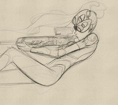 Sketch of Widowmaker. Gonna keep going with this one. Should I do classic or a different skin? Lightning Cosplay, Overwatch Widowmaker, Old Memes, French Girls, Keep Going, Game Character, Artist At Work, Manga Art, Cute Drawings