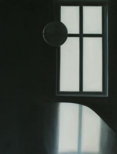 fenster mit lampe  175x135cm