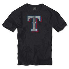 Texas Rangers Scrum Logo T-Shirt by '47 Brand - MLB.com Shop