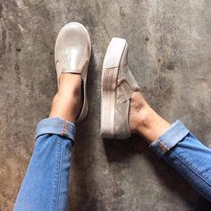 Slip On 💛💛💛 #PrettyDhans #SlipOn #Panchas #Peru #Calzado #Zapatos #shoes #IloveShoes #iloveflats #summer #summergirl  #sea #beach #spring #sotd #sneakers #loafer #ballerinas #balerine #sandals #surf #plataformas #chaussures #moda #cool #HandMade #PeruvianSHOES