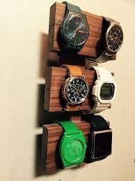 Image result for wood watch holder