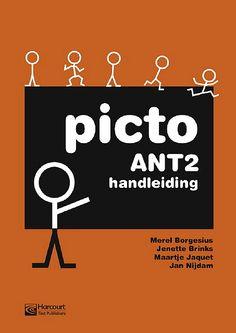 Picto ANT2. Met deze pictoboekjes leren cursisten spreken in correcte eenvoudige zinnen.
