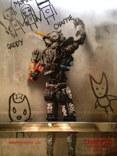 Poster Art for Neill Blomkamp's CHAPPIE - SDCC 2014