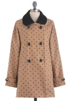 Becoming in Buds Coat, #ModCloth  I MUST HAVE THIS!