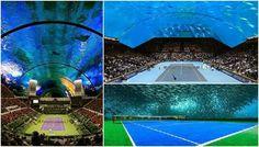 Under water stadium in Dubai