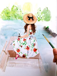Poster di moda, moda parete arte, illustrazione di moda, moda acquerello arte, arte Chic della parete, regalo per lei, Spogliatoio arte, arte Girly
