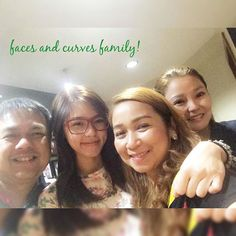 with my @facesandcurves_ph family! love u dokys! @shereccs @kamchiu on the side! no make up look thanks for my glasses @idealvisionph  have a great night everyone! by chinitaprincess