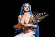"""S.LUCIA"" photo by Dario Scaramuzzino performer Adele Ceraudo"