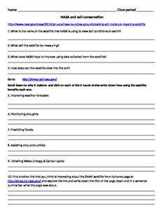 Bill nye the science guy motion video follow along sheet for Give the scientific word for soil