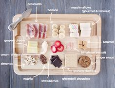 The art of gourmet s'mores and our idea of the perfect #SummerUp charcuterie board.